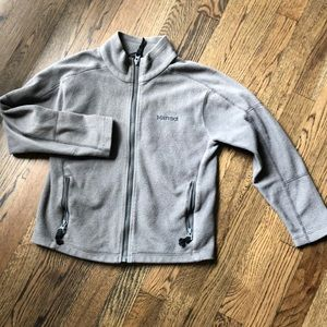 Marmot boys fitted fleece jacket